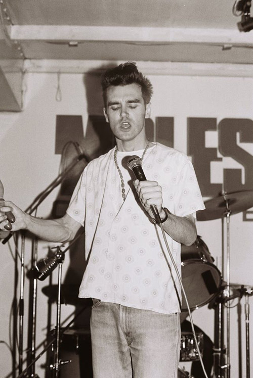 A young Morrisey