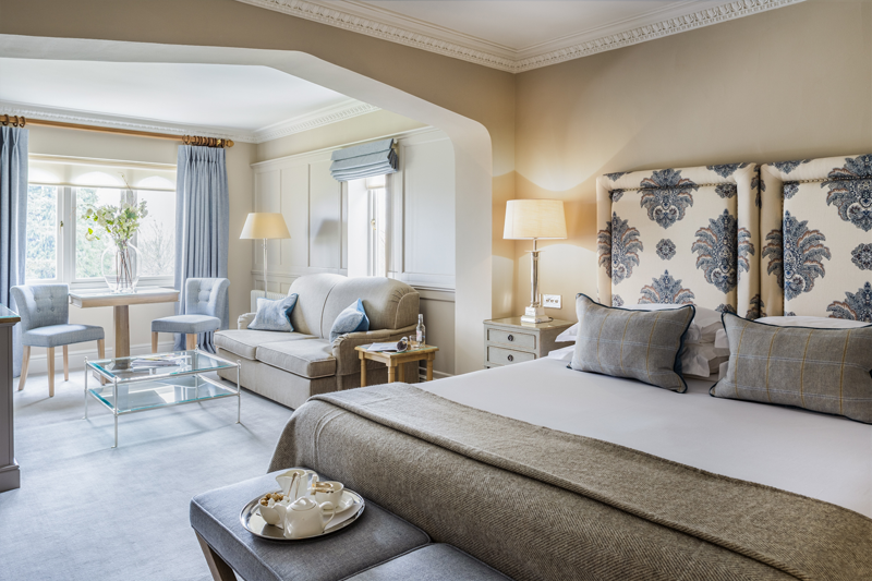 Oasis Of Calm Interior Design House Sims Hilditch Has Chosen Natural Shades For Individually Designed Rooms At The Bath Priory