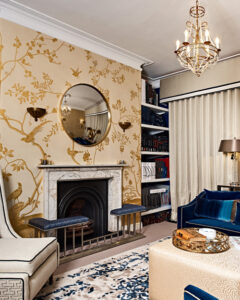 The De Gournay Covered Walls In Showroom Etons Of Bath Provides Advice And