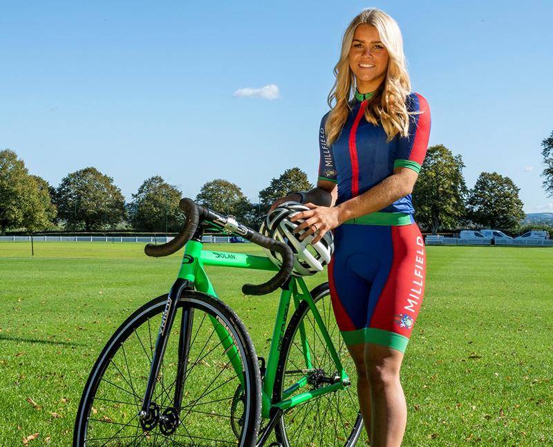 Millfield cyclist
