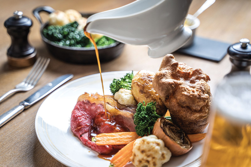 Sunday lunch review